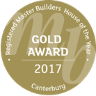 Registered Master Builders House of the year Gold Award 2017