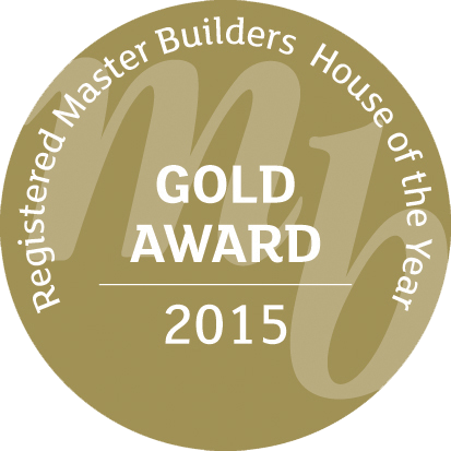 Registered Master Builders House of the year Gold Award 2015