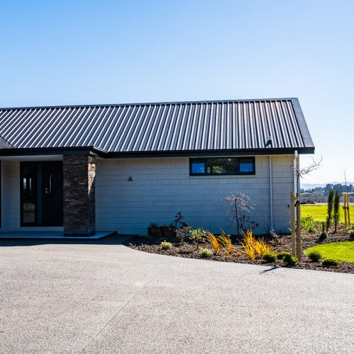 Rural build in Hayfield/Springback. Built by our expert team of qualified builders